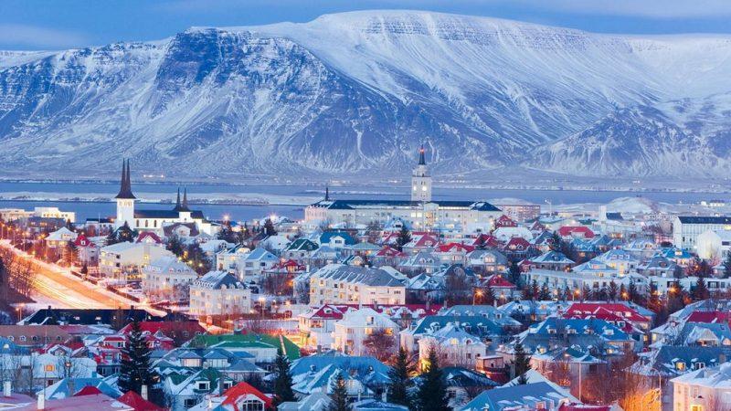 reykjavik en invierno