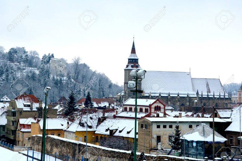 transilvania en invierno