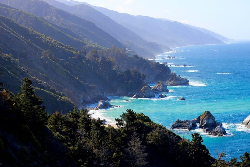 luna de miel en big sur california