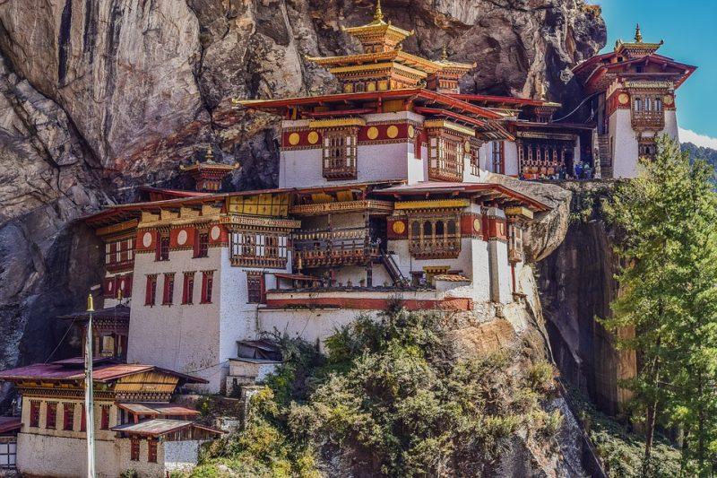 luna de miel en buthan