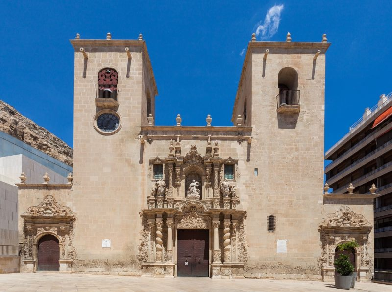 iglesia de santa maria en alicante