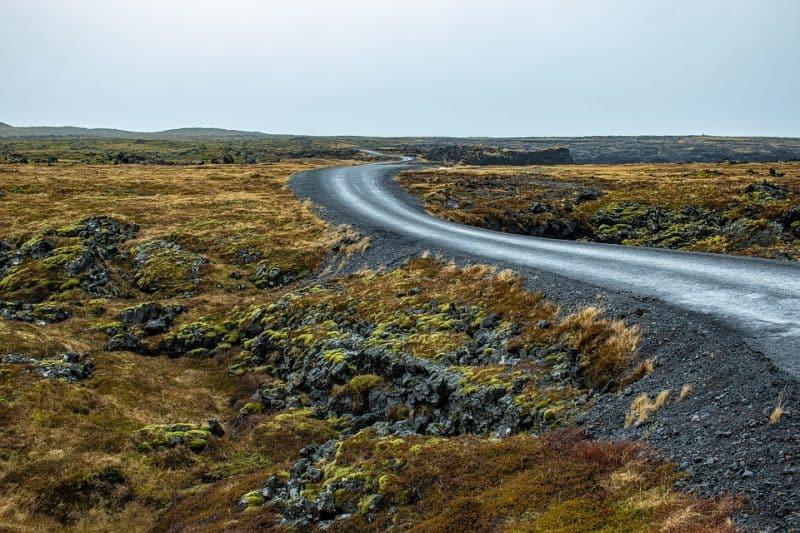 Ruta 1, Islandia
