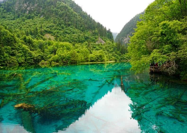 Lago de las Cinco Flores