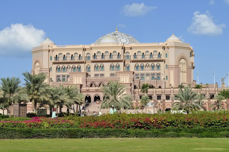 Palacio de los Emiratos, Abudhabi