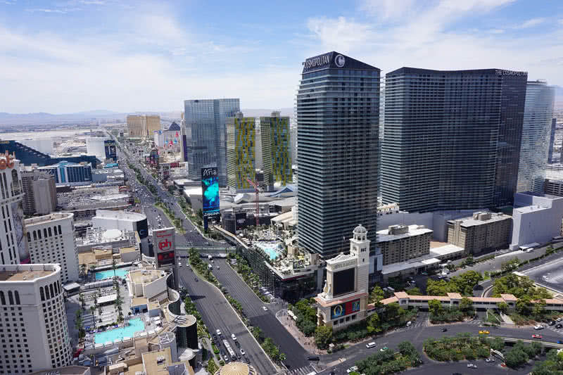 cosmopolita, Las Vegas