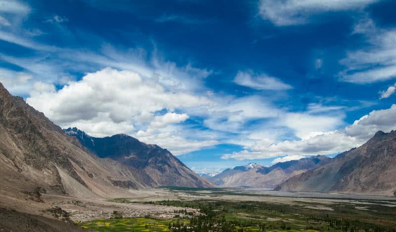 nubra velley en ladakh