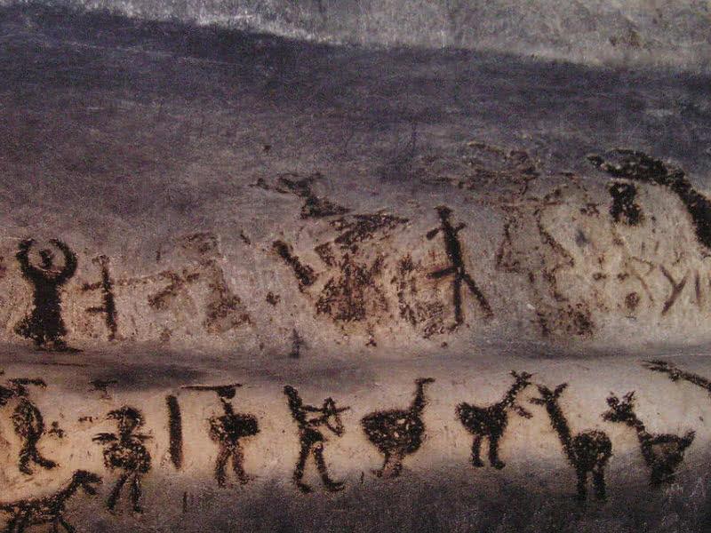 Pintura rupestre de Magura