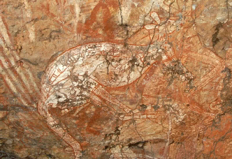Arte rupestre de Kakadu