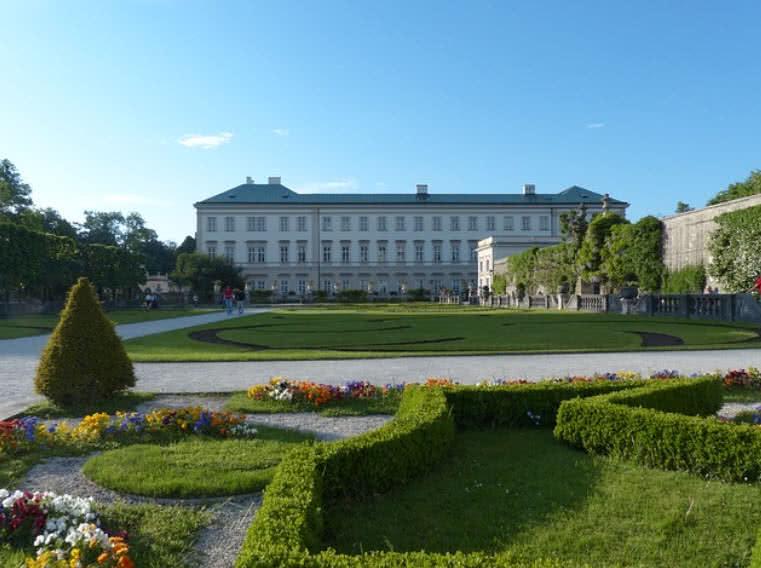 Palacio y jardines de Mirabell, Austria