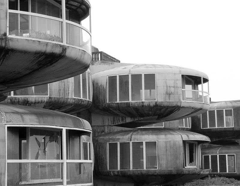 Casas OVNI Sanzhi