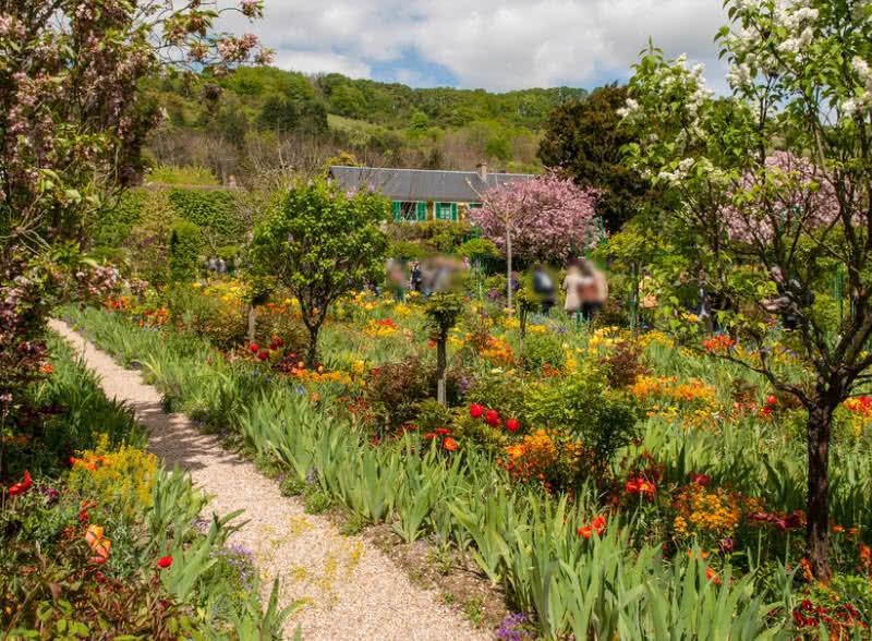 El jardín de Claude Monet