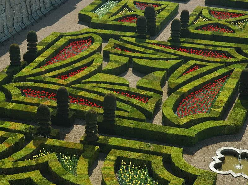 jardines de Chateu de Villandry