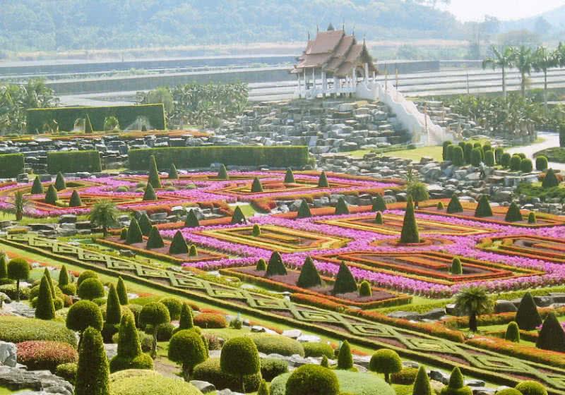 Jardín botánico de Nong Nooch