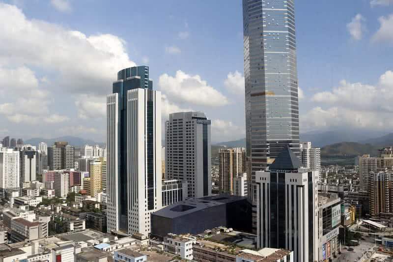 Horizonte de Shenzhen