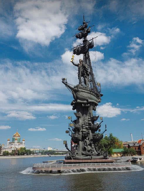 pedro la gran estatua