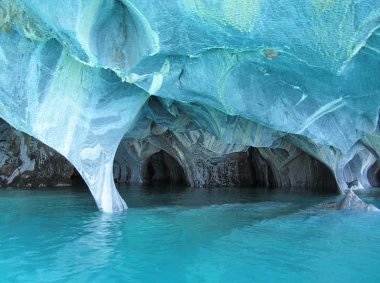 Cuevas de hielo, Chile