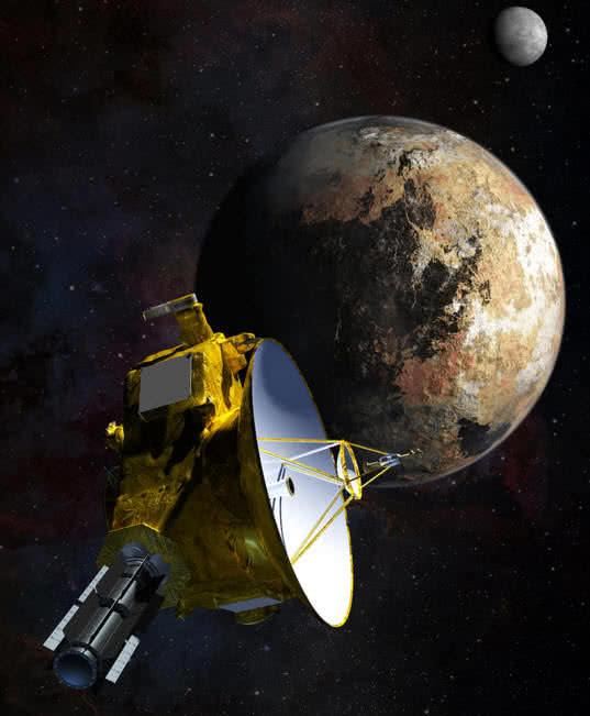 Sonda espacial interplanetaria New Horizons de la NASA