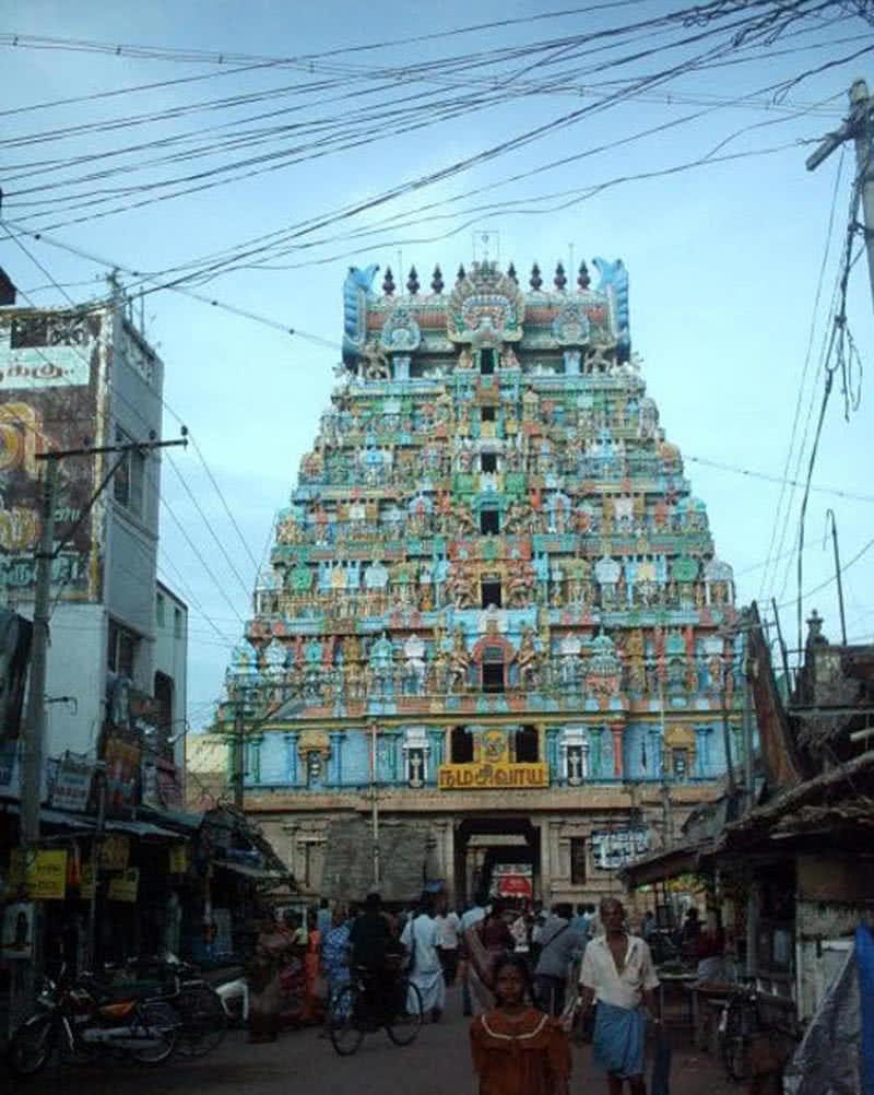 Templo de Thiruvanaikaval Shiva