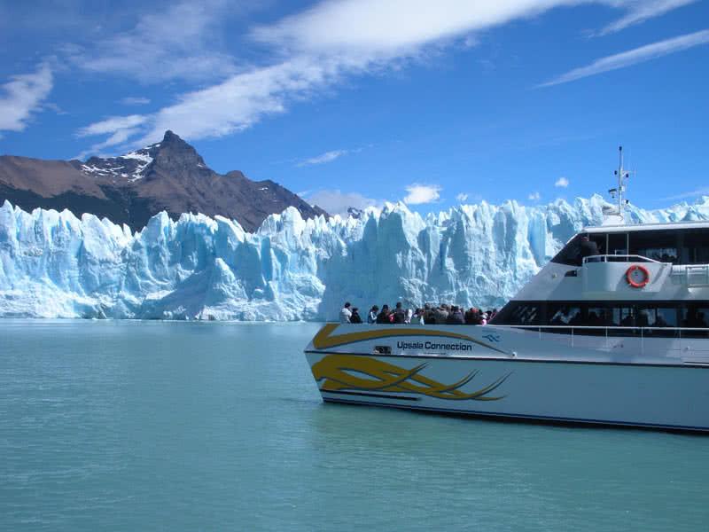 glaciar perito morino, argentina